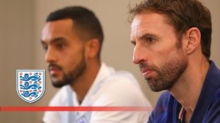 Gareth Southgate & Theo Walcott discuss England v Malta (2018 WCQ)   FATV News