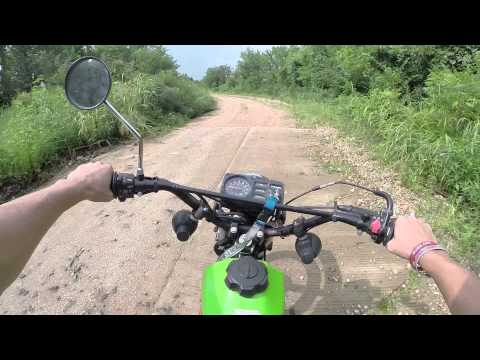Kawasaki KE100 Ride