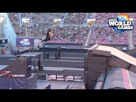 BMX Best Tricks Highlights - Nitro World Games 2017