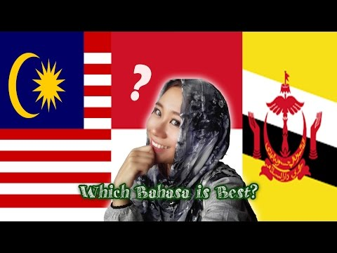 Malaysia VS Indonesia VS Brunei Language 马来西亚VS 印度尼西亚VS文莱