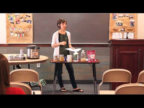 Food Storage - Nutritional Powerhouse Class