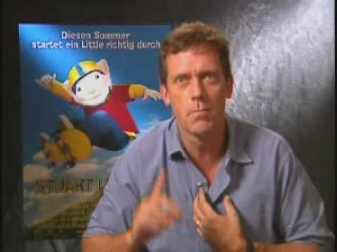 "Interview Hugh Laurie, ""Stuart Little 2"" - YouTube"
