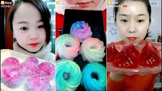 Most Satisfying Ice Eating ASMR Videos | Eat and Drink Compilation #41
