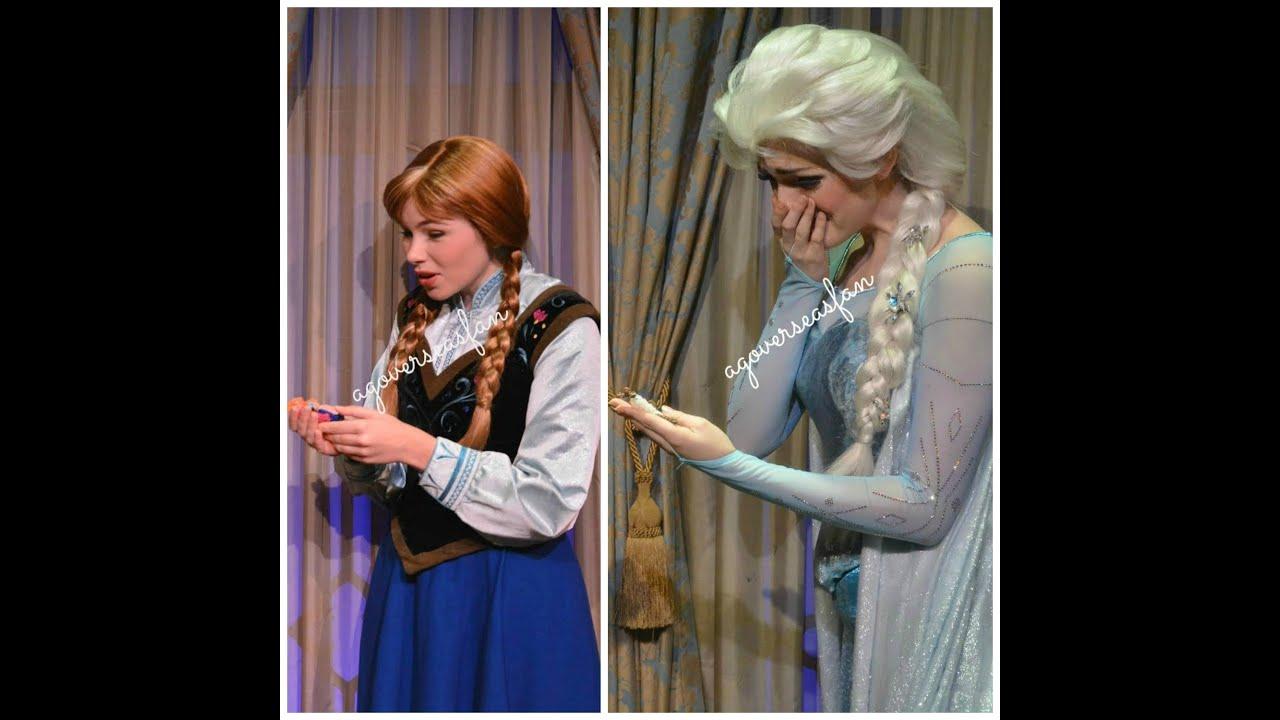 Disney Princess Bedroom Ideas Disney Frozen Anna And Elsa Surprise Gifts At Disney World