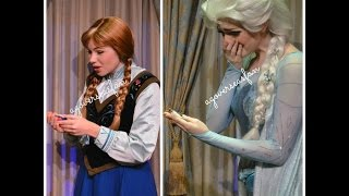 Disney Frozen Anna and Elsa Surprise Gifts at Disney World!
