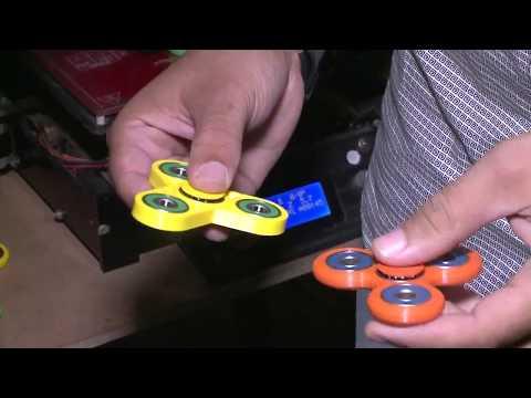 Para crianças e adultos o Hand Spinner