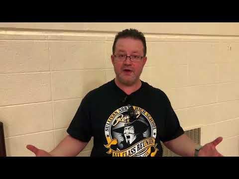 Brady Barnett explains how the Sullivan North High School all classes reunion held Friday and Saturd