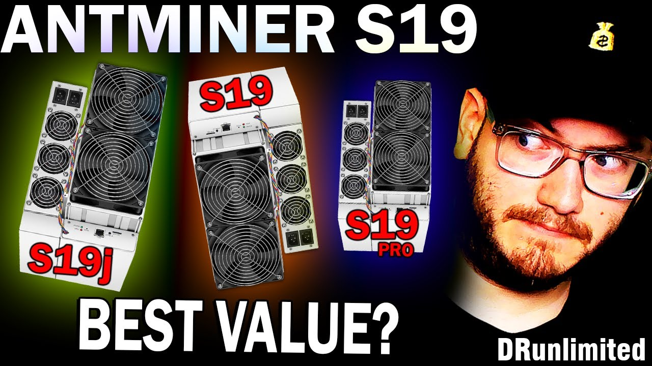 Download Antminer S19 vs S19j vs S19 Pro Comparison in October 2021 - What Expensive Asic Miner is best?
