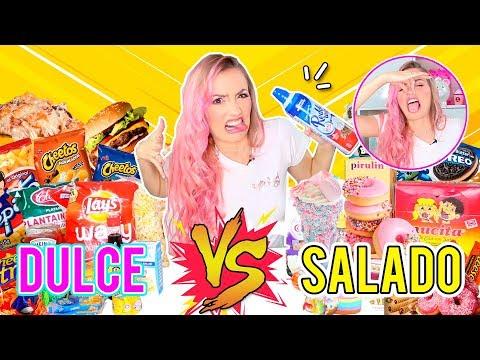 RETO: DULCE vs SALADO ¡MEZCLAS ASQUEROSAS! | KATIE ANGEL