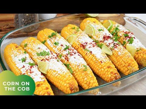 Gegrillte Maiskolben aus dem Ofen - Grilled Corn on the Cob