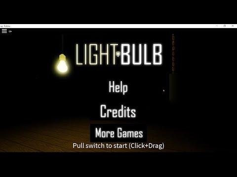 Roblox Light Bulb Reillumination Part 1 Youtube