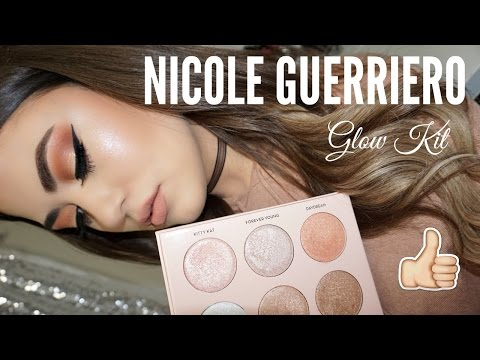 Anastasia Beverly Hills x NICOLE GUERRIERO GLOW KIT! Swatches & Review