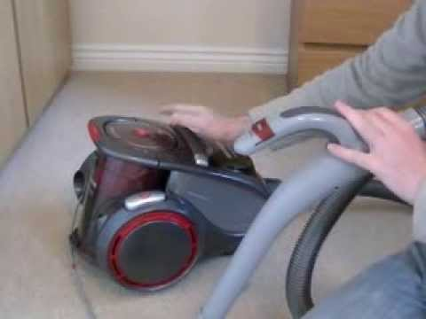 Hoover Xarion Allergy Care Bagless Cylinder Vacuum Cleaner