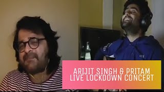 Arijit Singh | Pritam Chakraborty | Live Performance | Shayad | Lockdown Days | Quarantine Concert |