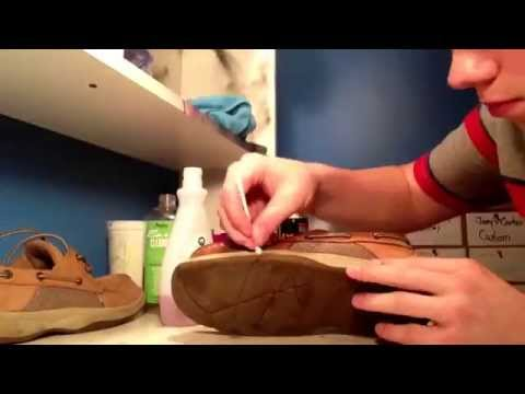 How to Clean Sperrys Tutorial