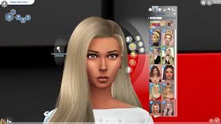 Создание Cas Ольга бузова Sims 4 CAS