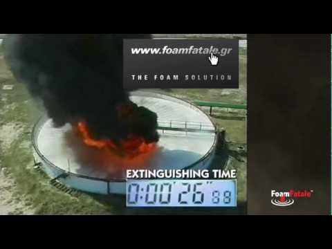 Foamfatale Storage Tank Fire Extinguishment Youtube