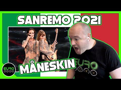 SANREMO 2021 WINNER REACTION: Måneskin - Zitti e Buoni // ANDY REACTS!
