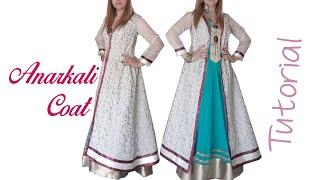 A line Anarkali Coat ~ Tutorial