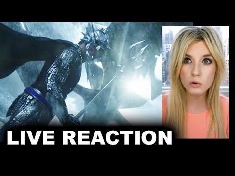 Aquaman Final Trailer REACTION