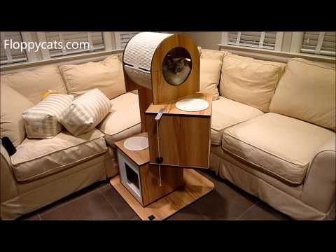 innovative modern cat furniture | Hagen Vesper V-Tower Modern Cat Tree Furniture Product ...