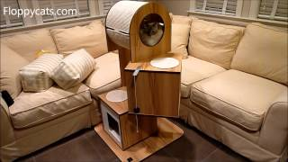 Hagen Vesper V-tower Modern Cat Tree Furniture Product Review - ねこ - ラグドール - Floppycats