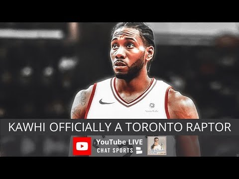Kawhi Leonard Officially Traded To Raptors Dez Bryant Rumors Nfl Training Camp Predictions