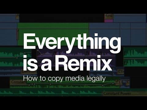 Everything is a Remix: Fair Use