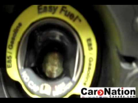 2010 Ford Fusion Capless Gas Tank Feauture