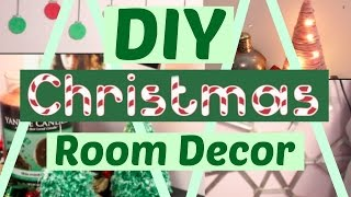 DIY Holiday/Christmas Room Decor! 2016