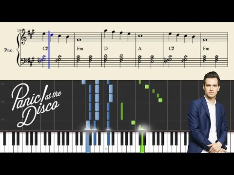 Panic! At The Disco - House Of Memories - Piano Tutorial + Sheets