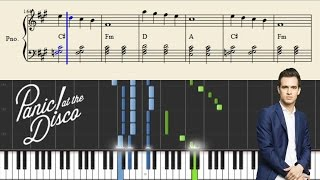 Panic At The Disco House Of Memories Piano Tutorial Sheets