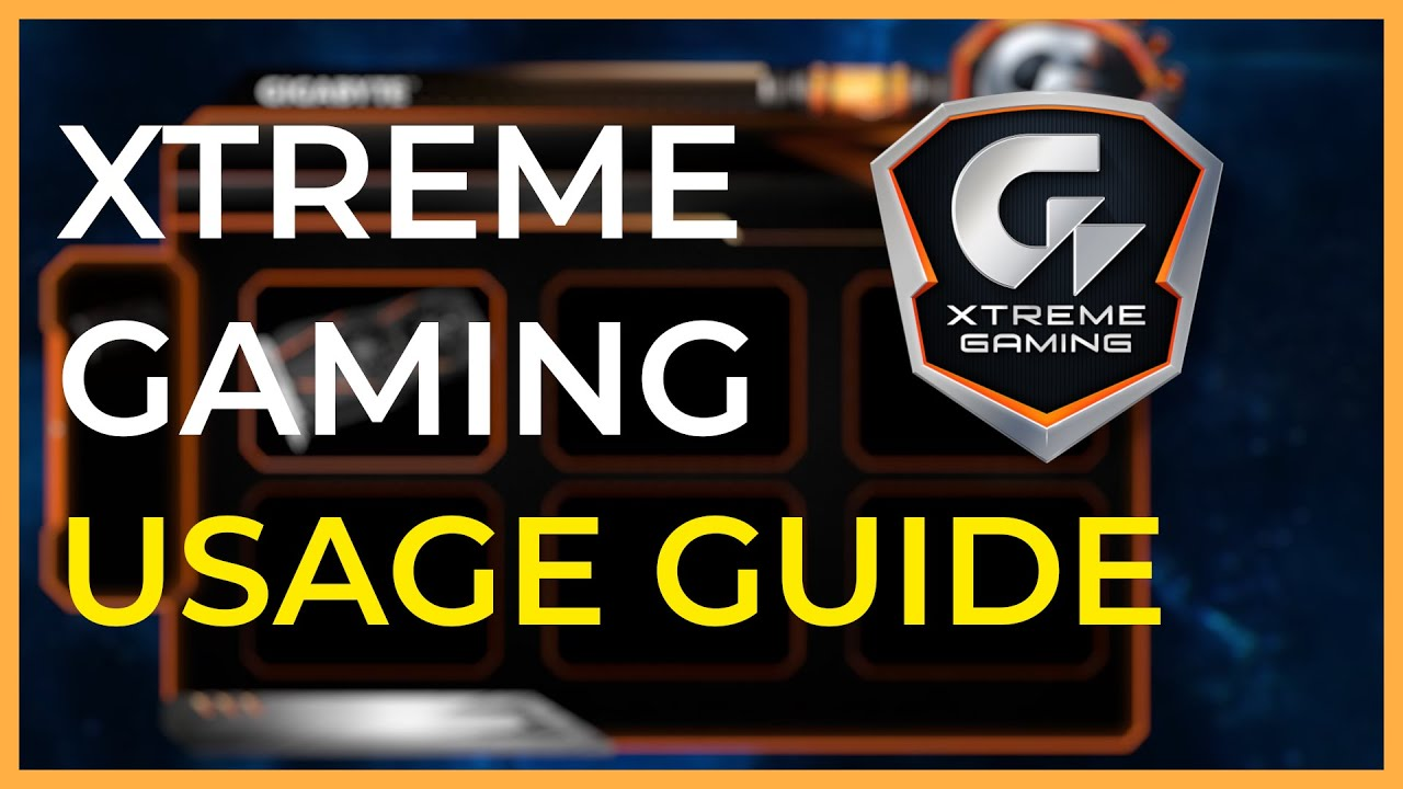 gigabyte xtreme engine software download