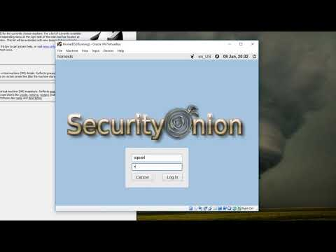 Intrusion Detection System Tutorial: Setup Security Onion 2019