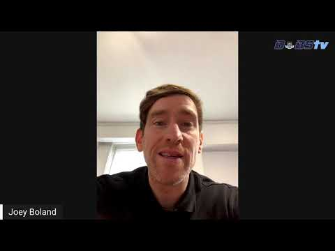 Joey Boland talks to DubsTV to help launch AIG's Health & Wellness portal