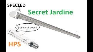 LED Secret Jardin (Сикрет Жардин) спешат на помощь к ДНаТ в гроубокс. Обзор ламп, замер спектра