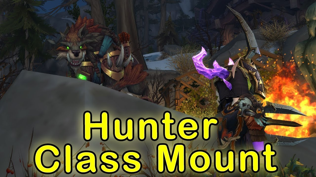 Hunter Class Mount Quest Line Night Of The Wilds Huntmasters