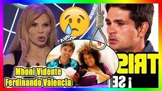 ¡TRISTE! Mhoni Vidente hizo una predicción sobre Dante, Ferdinando Valencia lloró mucho