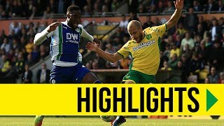 HIGHLIGHTS: Norwich City 1-0 Wigan Athletic