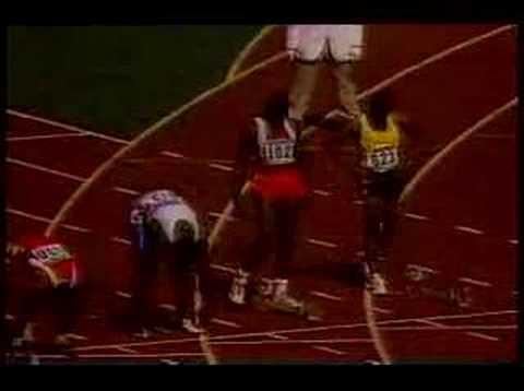 1988 Seoul Olympics 100M final