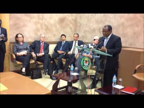 Press Conference on the gas sub-sector in Tanzania