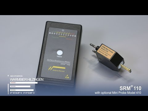 SRM110 with Mini Probe 410