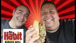 The Habit's Steak Sandwich Review With Gotcapone!