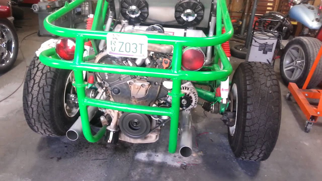 Honda Engine In Sand Rail