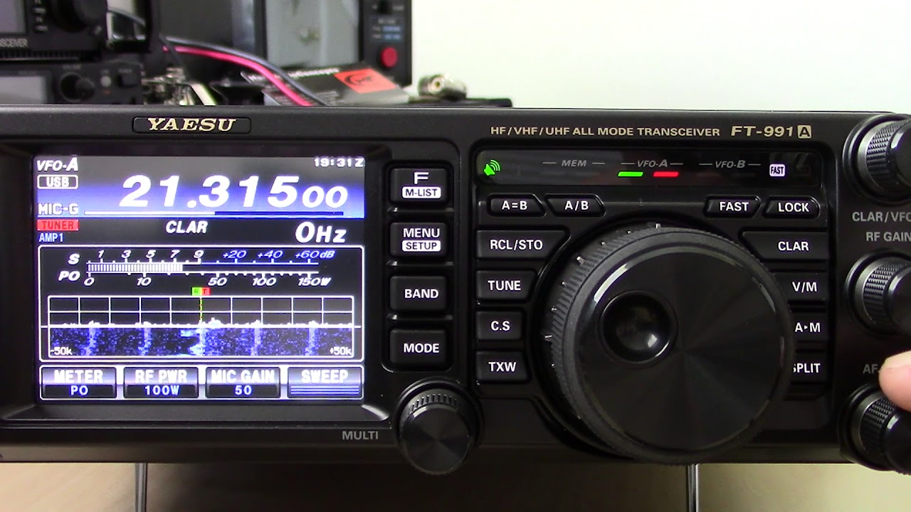 Yaesu FT-991a On-Air Tests - YouTube