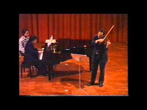 Brahms Sonata Op. 120 n. 2, Allegro amabile (Fragment)