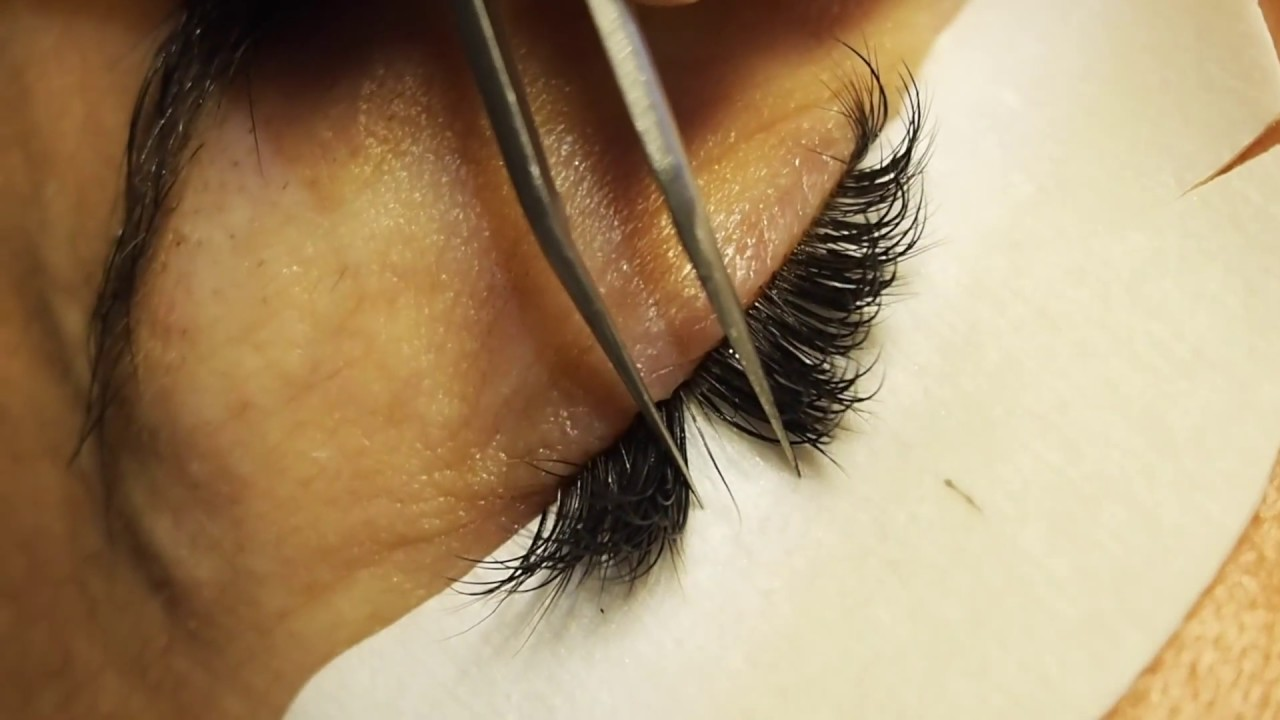Eyelash Extensions Up Close And Personal Sophie Stanbury Youtube