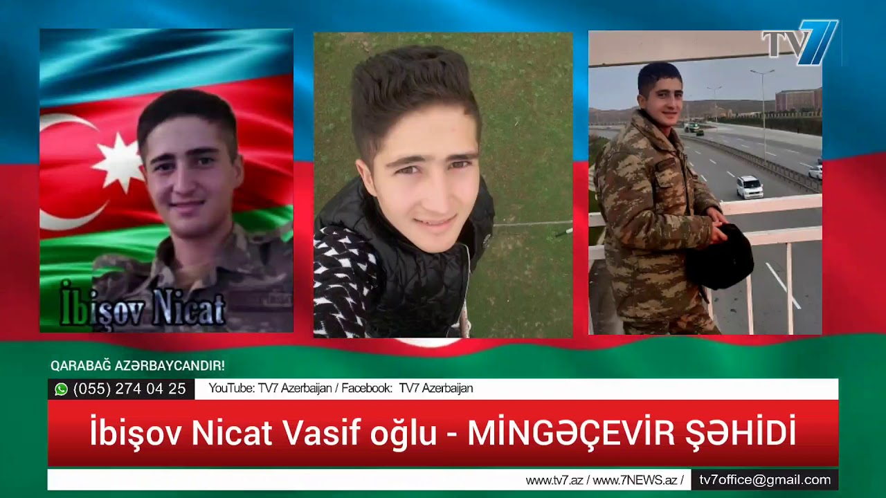 Zəfərə Gedən Yol - Mingəçevir Şəhidi Nicat İbişov