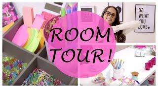 Room Tour || My Room Makeover + Desk Essentials And Organization! ||