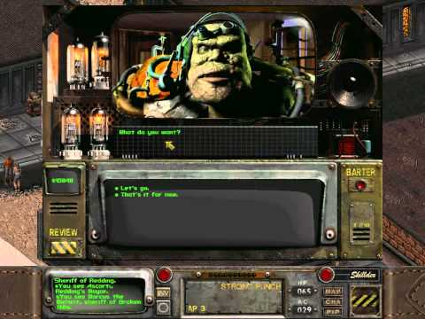 Fallout2-063 Getting the Deed |